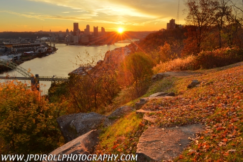 Kickstart Pittsburgh West End Overlook Sunrise Blog