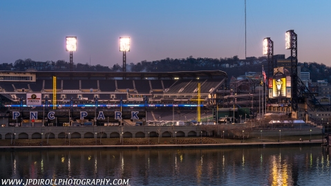 Opening Day Pittsburgh Pirates PNC Park Sunrise