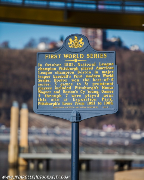 Pittsburgh First World Series Sign