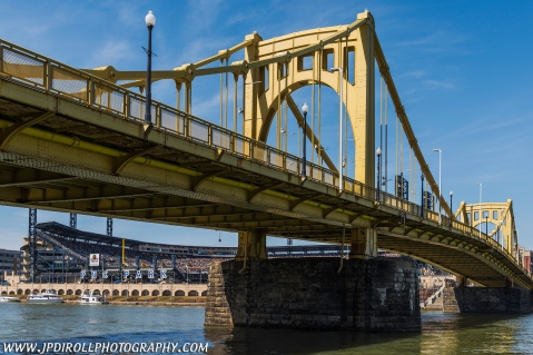 Pittsburgh Pirates Home Opener Clemente Bridge