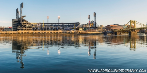 Pittsburgh Pirates PNC Park Reflection