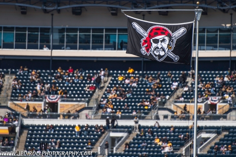 Raise the Jolly Roger Pittsburgh Pirates Opening Day