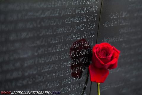 Rose Vientam Memorial Wall Washington DC BLOG
