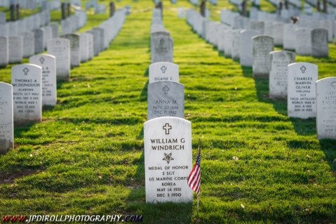 William Marine Medal of Honor Arlington Cemetery National Hero BLOG