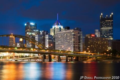 Pittsburgh Blues North Shore Reflection blog