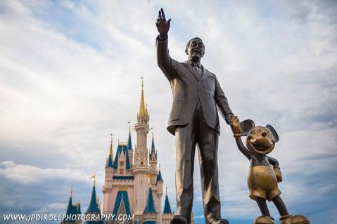 Reach for Sky Disney World Magic Kingdom Partners Statue blog