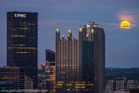 Super Blood Full Moon Pittsburgh Night blog