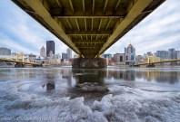 Under the Bridge Pittsburgh Frozen North Shore blog