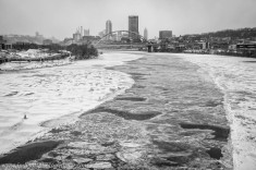 Nuclear Winter Pittsburgh Frozen Ice River c web srgb